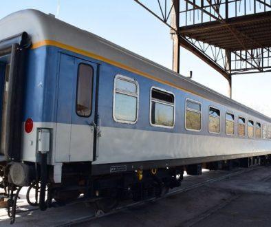 قطار با فوم آلومینیومی